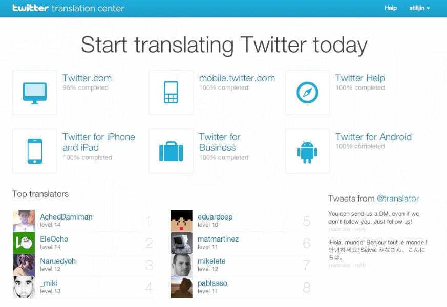 Traduire Twitter