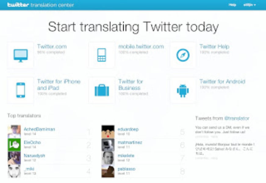 Translating Twitter into more languages