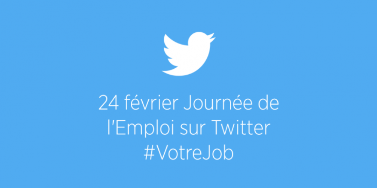 Trouvez #VotreJob sur Twitter