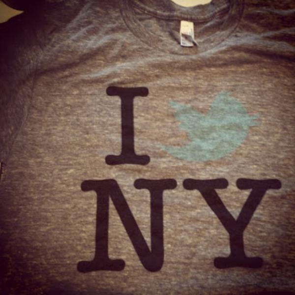 Twitter4Brands NYC tshirt