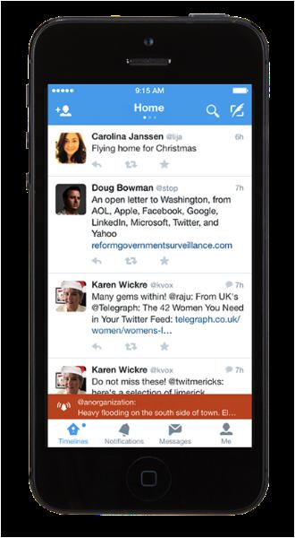 Twitter Alerts: Información crítica en tiempo real y cuando más la necesitas