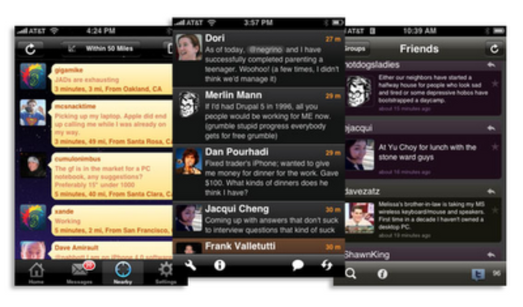 Twitter apps for the iPhone Reviewed