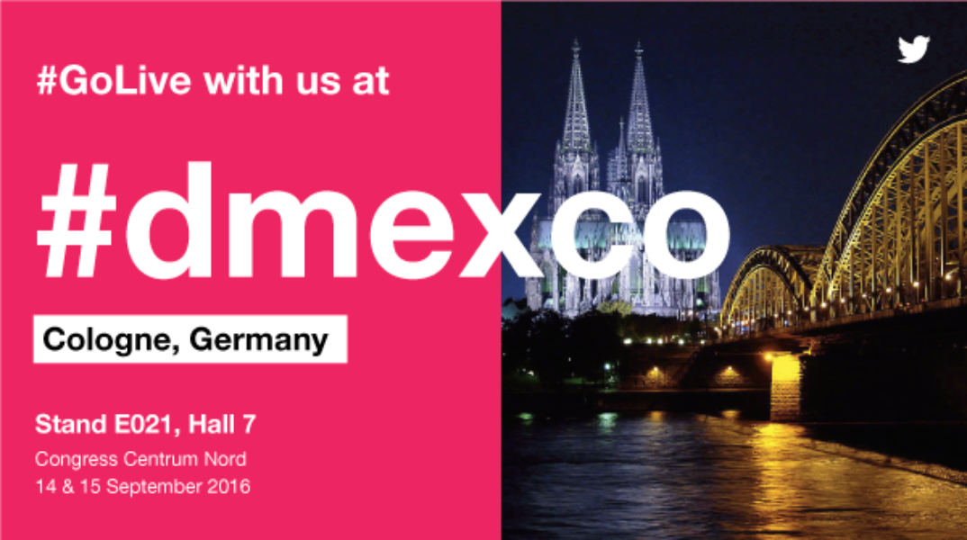 Twitter at #dmexco: Discover how video is happening on Twitter