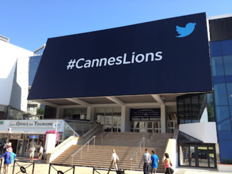 Twitter Billboard Cannes Lions