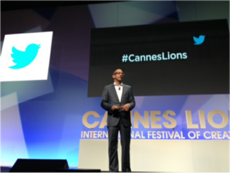 Twitter CEO Dick Costolo Cannes Lions