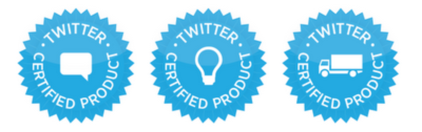 Twitter Certified Products: Tools for Businesses