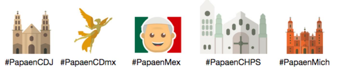 Twitter cria Emojis exclusivos para a visita do Papa ao México