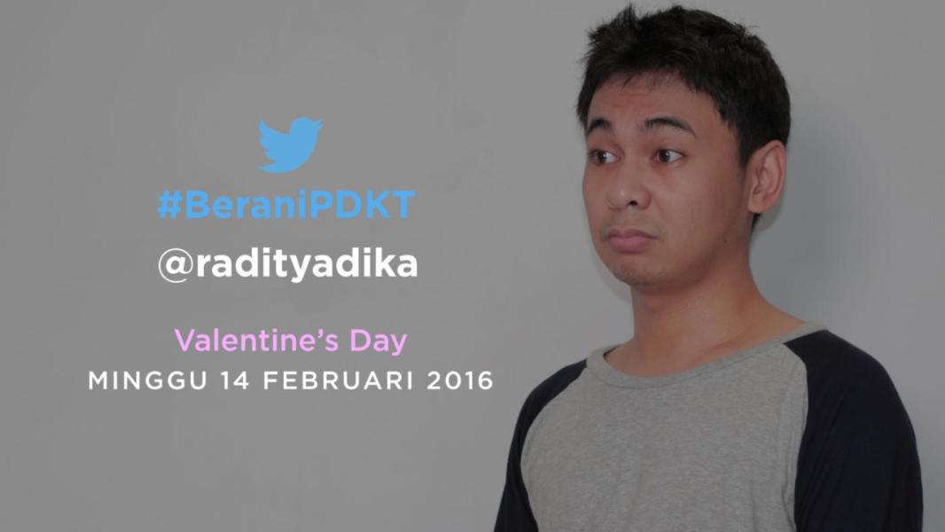 Twitter dan Raditya Dika Kirim Surat Cinta Spesial #BeraniPDKT untuk Rayakan Hari Kasih Sayang