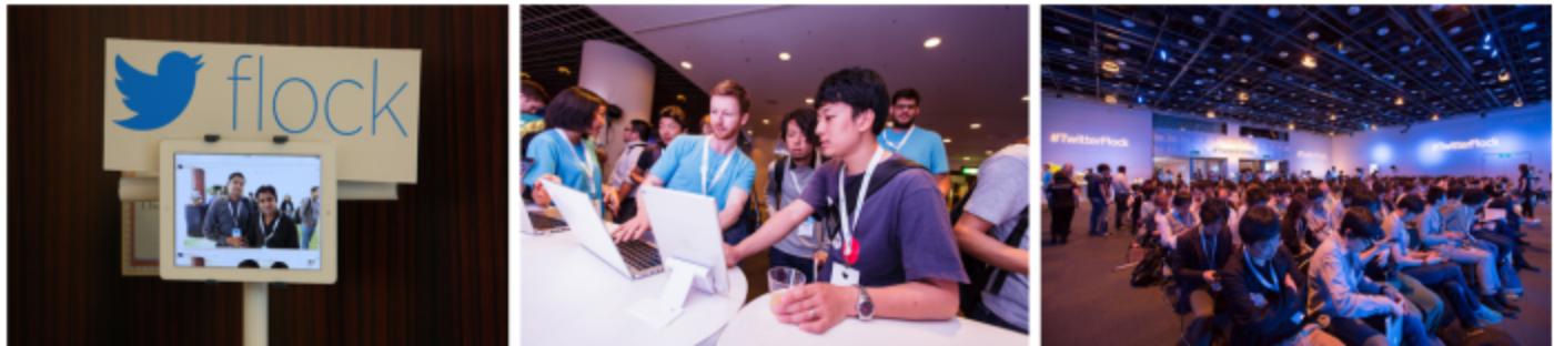 Twitter developer events: June 2015