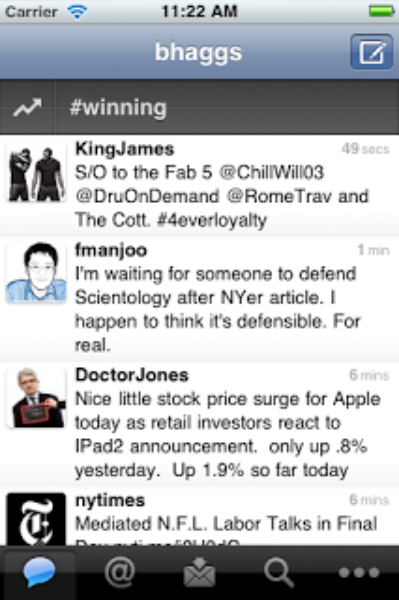 Twitter for iPhone & iPad: Even Better