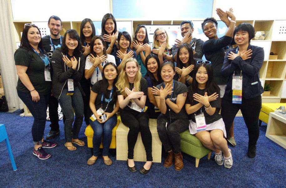Twitter goes to #GHC15