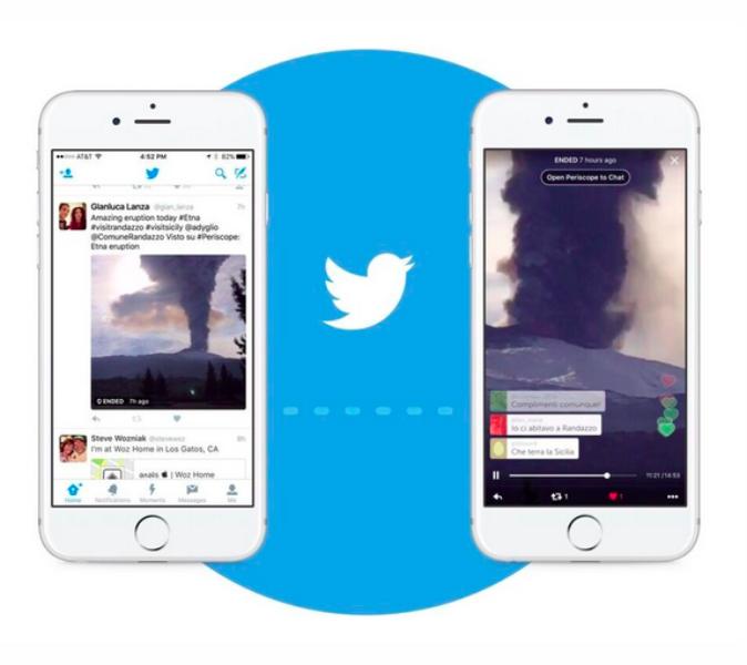 Twitter integra Periscope na plataforma