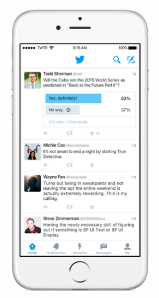 Twitter lança botão para criar enquetes na plataforma
