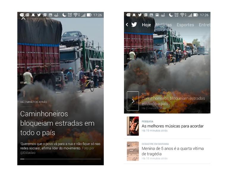 Twitter lança no Brasil o Moments, botão que permite encontrar histórias com mais facilidade