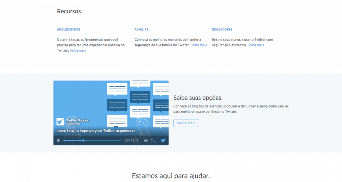 Twitter lança nova Central de Segurança no Brasil