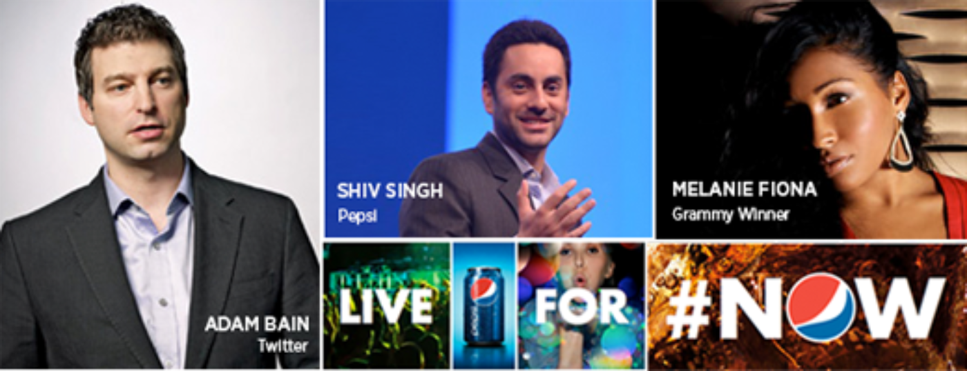 Twitter Pepsi Live For Now Advertising Week