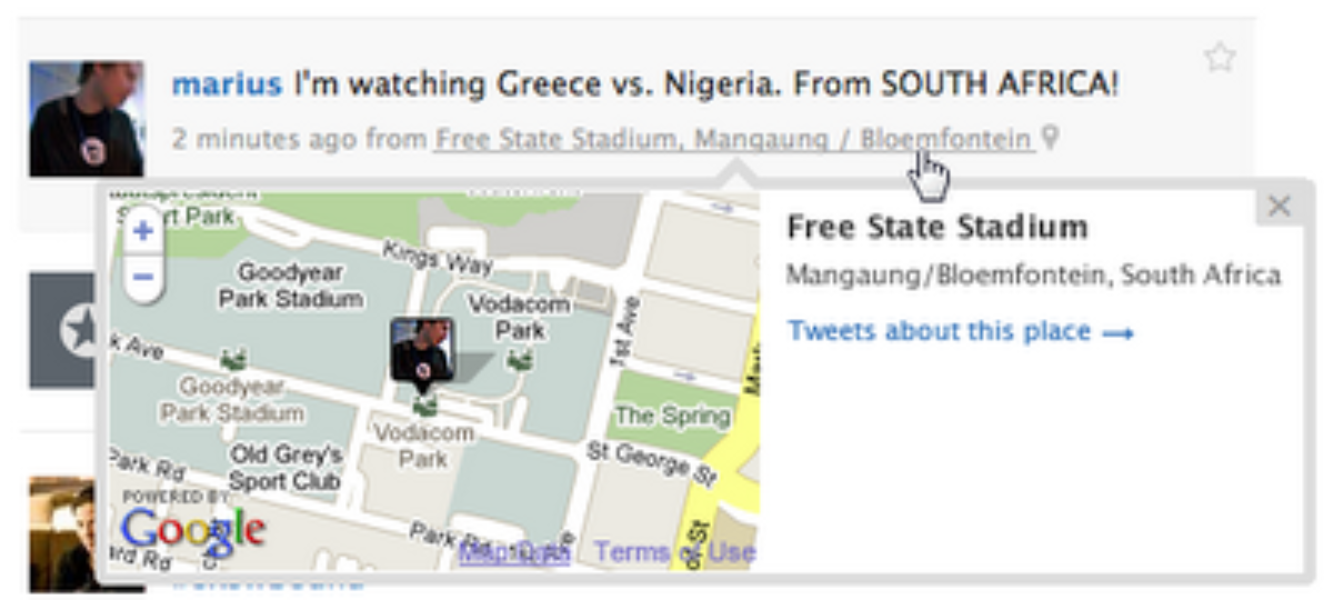 Twitter Places: More Context For Your Tweets