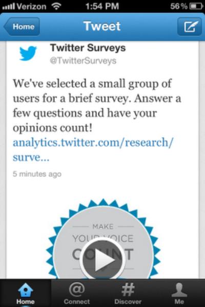 Twitter Surveys Nielsen