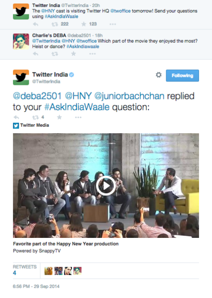 Twitter welcomes #IndiaWaale!