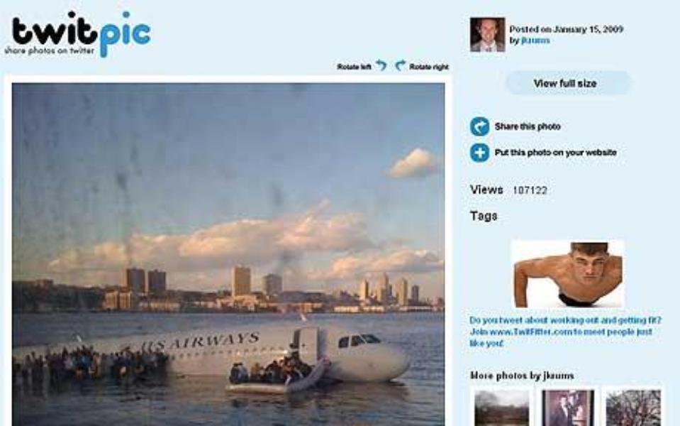 Twitter y Warner Bros presentan #Sully, la película del día que cambió Twitter