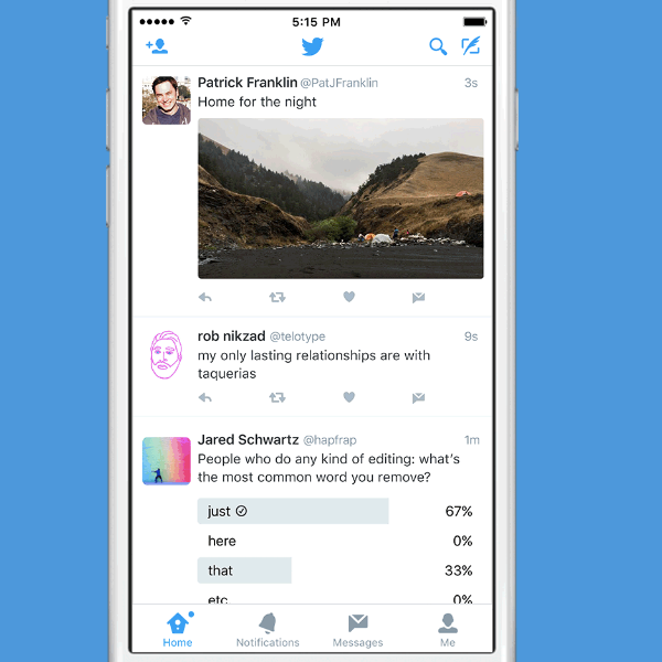 Una manera más fácil de compartir Tweets en privado