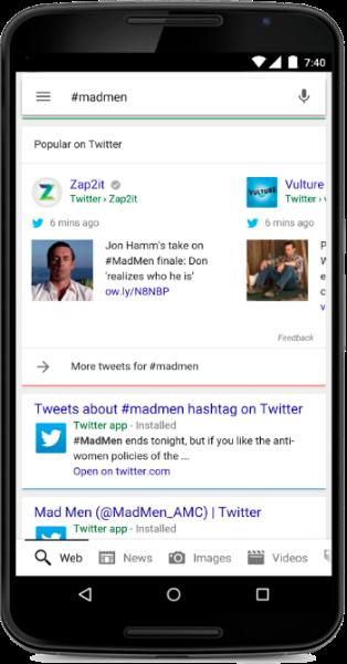Una nueva manera de descubrir Tweets