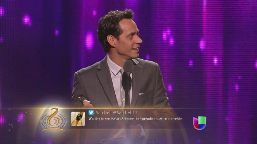 Univision brings fans to carpet, backstage, on stage for Premio Lo Nuestro via Twitter