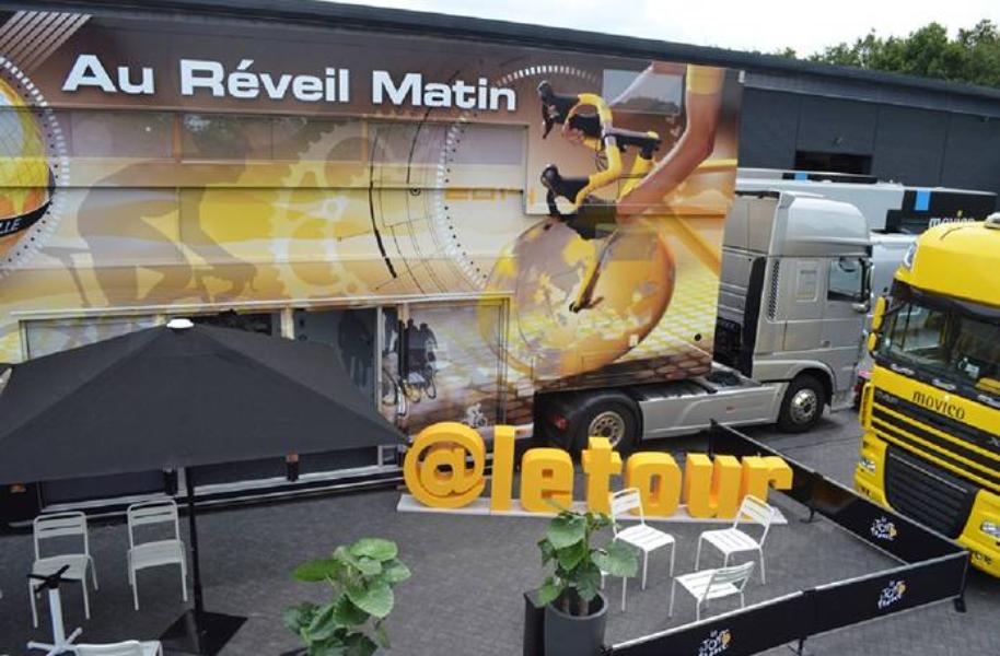 Vibrez pour le Tour de France 2014 sur Twitter