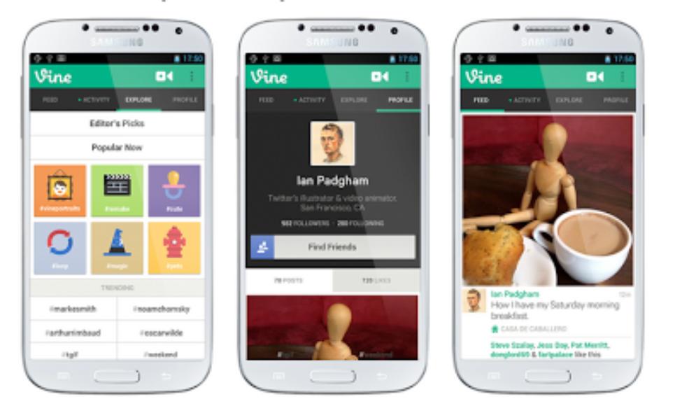 Vine:Androidでもご利用できるようになりました
