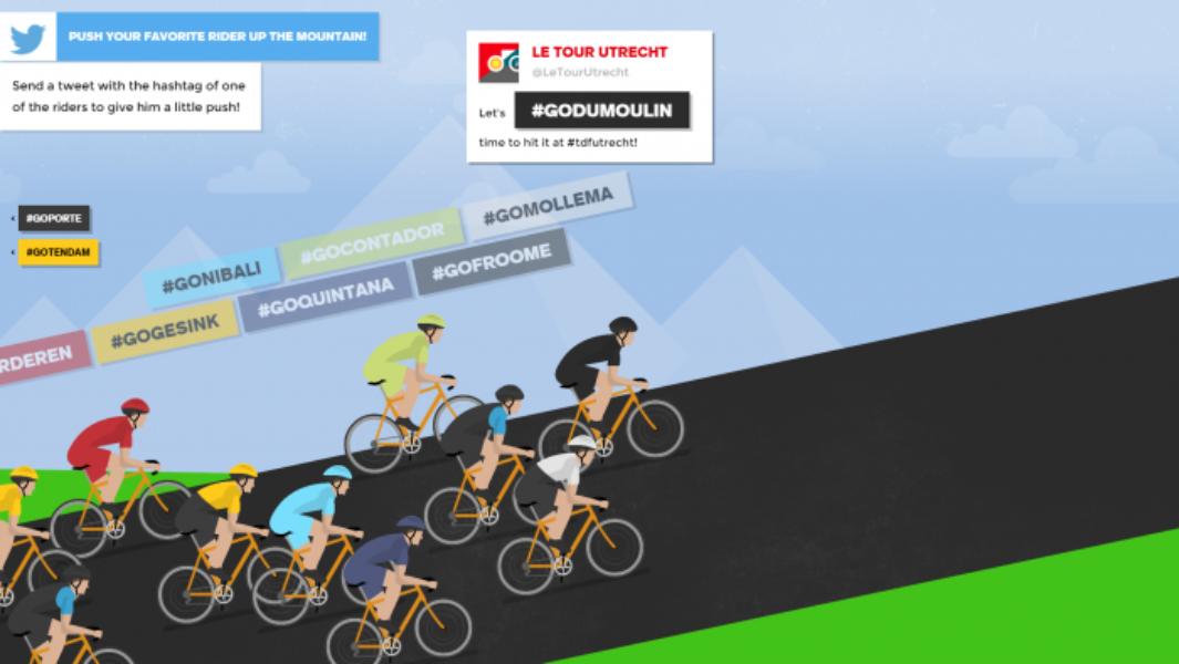 Vivez au coeur du Tour de France 2015 avec Twitter