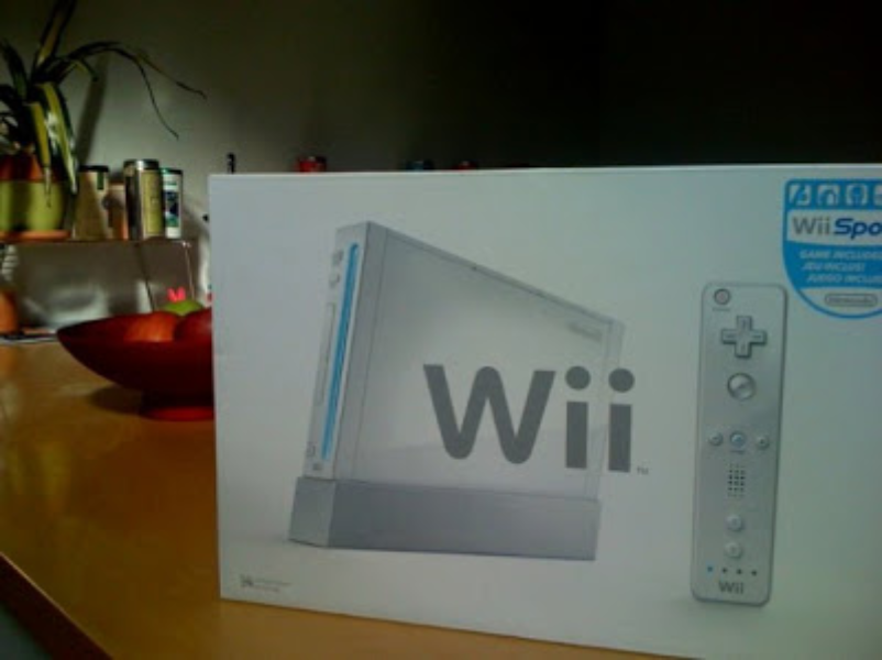 We bought the office a Wii