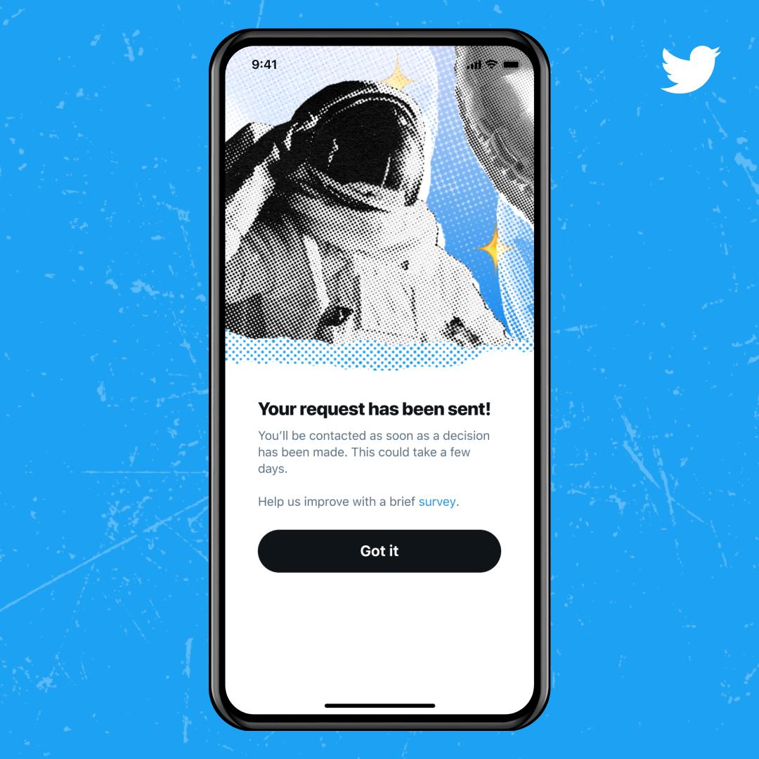 Happy News Twitter Users - Twitter Relaunching verification verified blue checkmark again