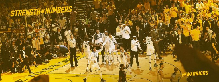How the @warriors dominant #NBAFinals run happened on Twitter