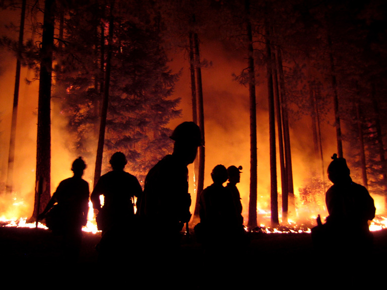 Using data from the conversation on Twitter to help detect wildfires