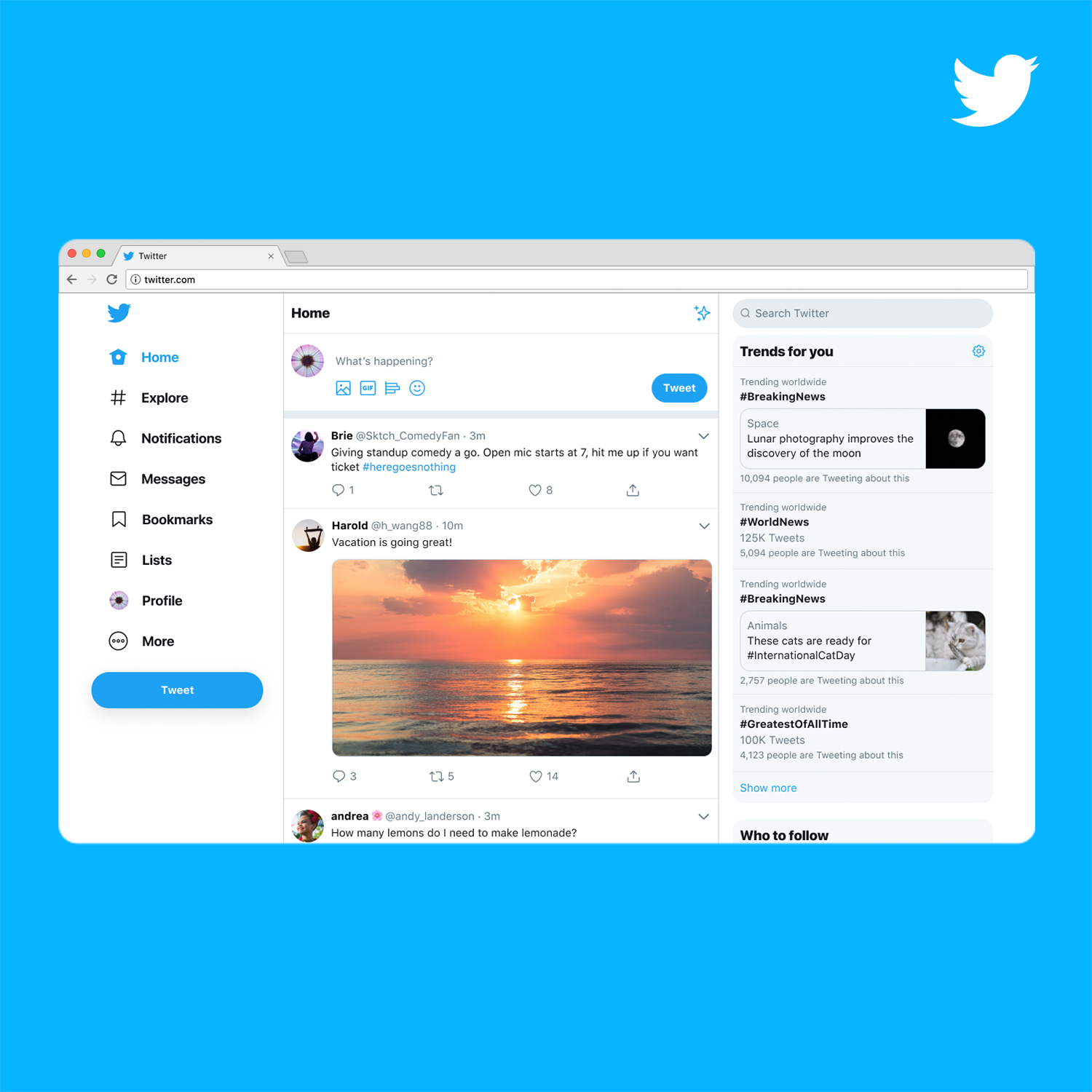 Introducing a new Twitter.com