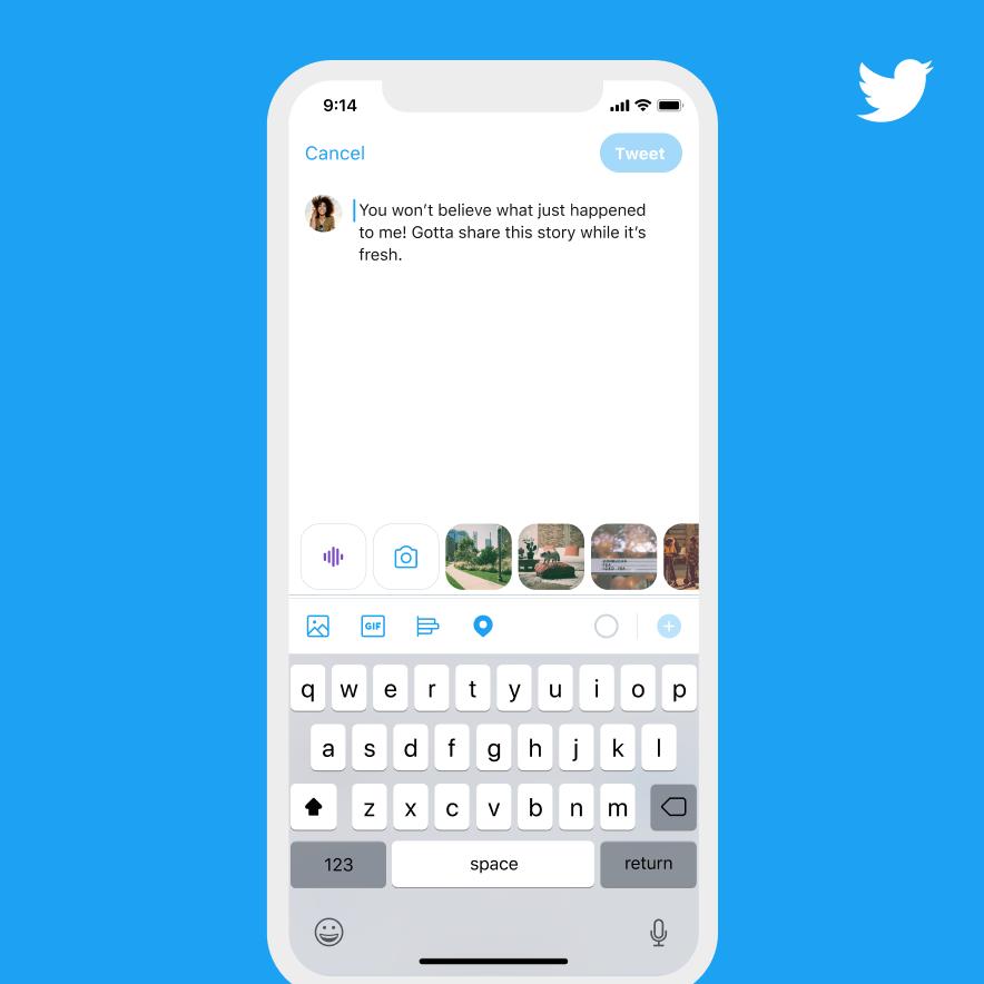 Nueva funcionalidad de Twitter: Publica tus tweets con tu propia voz 1