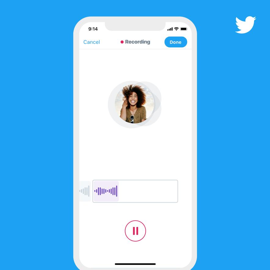 Nueva funcionalidad de Twitter: Publica tus tweets con tu propia voz 2