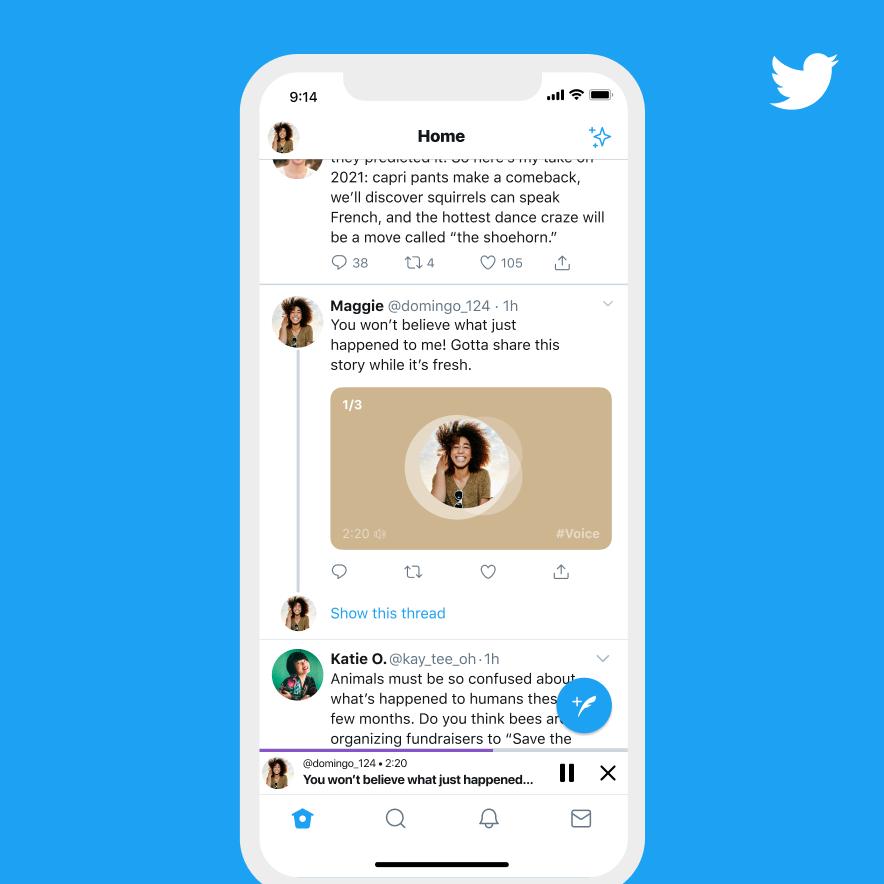 Nueva funcionalidad de Twitter: Publica tus tweets con tu propia voz 3