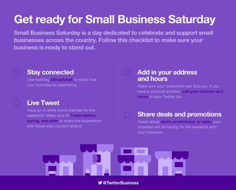Small Business Saturday 2017 checklist: 4 ways to get your