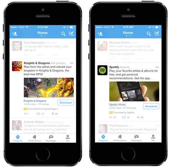 Mobile App Promotion — Twitter Developers