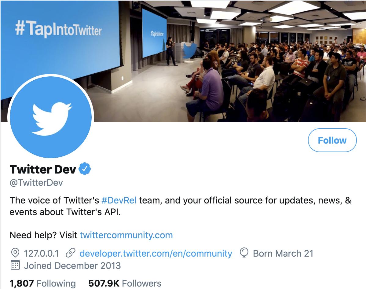 User object   Docs   Twitter Developer Platform