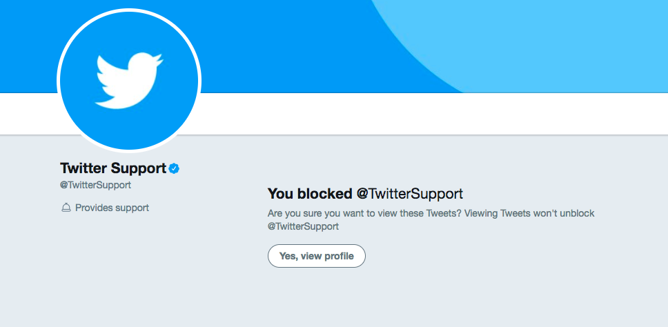 About blocking on Twitter and how to know if someone blocked you