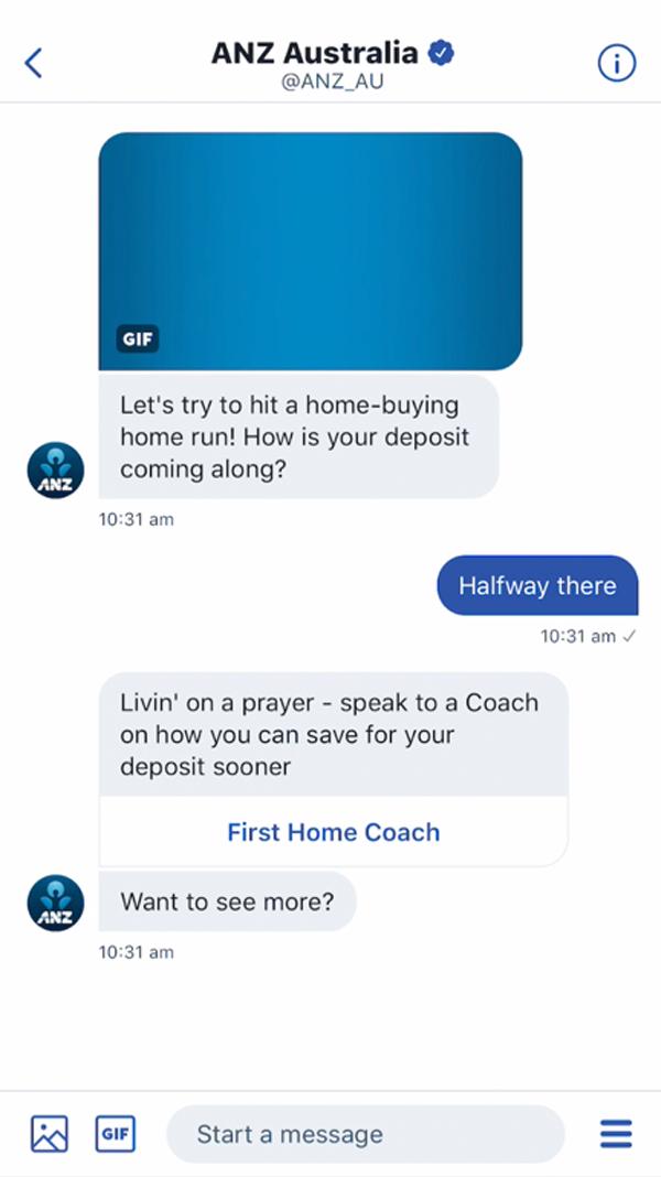 Phone screen image