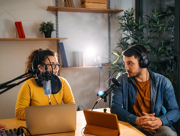 Media Studio for podcasters