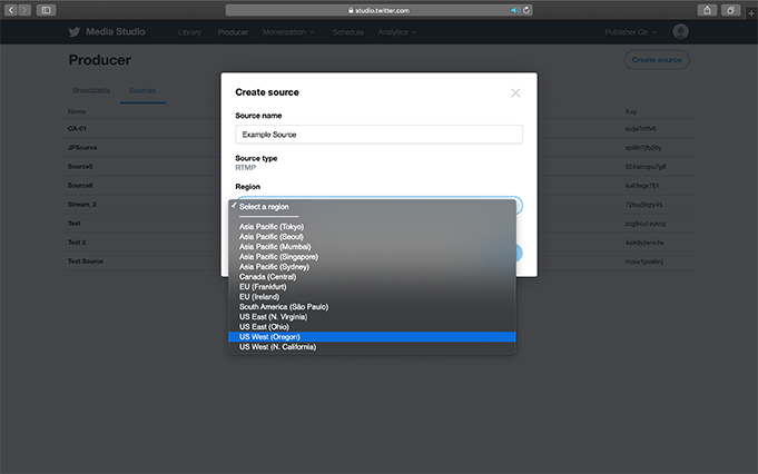 3. Enter the required fields:
